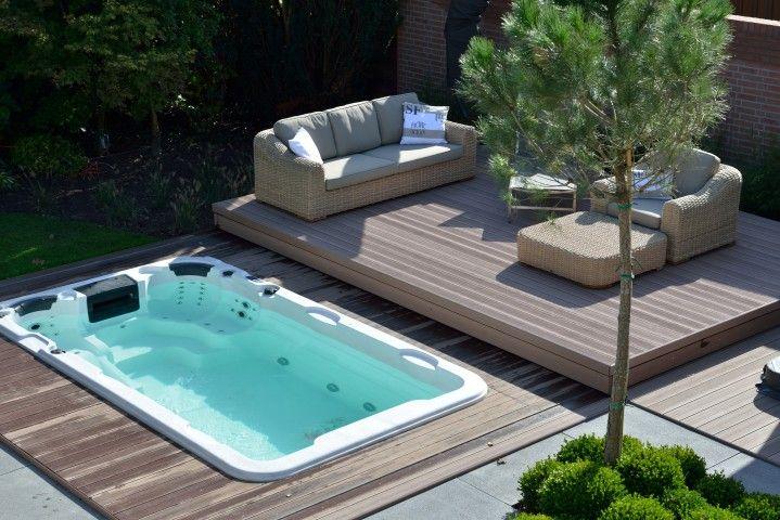 Portfolio zwembad vlonder - Zwembad onder het terras ...
